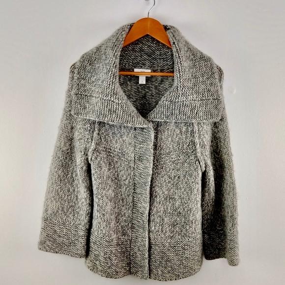 LOFT Sweaters - Ann Taylor Loft Wool Blend Button Down Sweater